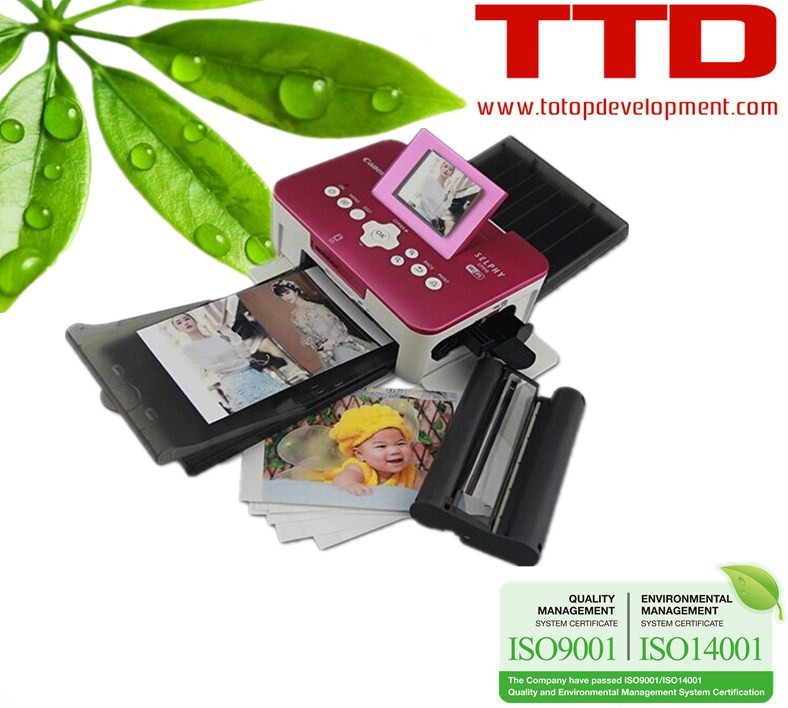 Ttd Ink Cartridge Kp-108in Rp108 For Canon Selphy Cp810 (3 Ink + ...