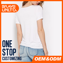 Hot sale dry fit t-shirt for women customized logo