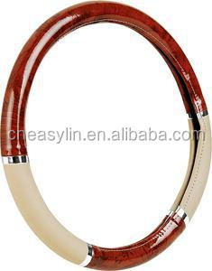 NEW wood steering wheel cover,steering wheel cover,car steering wheel cover,