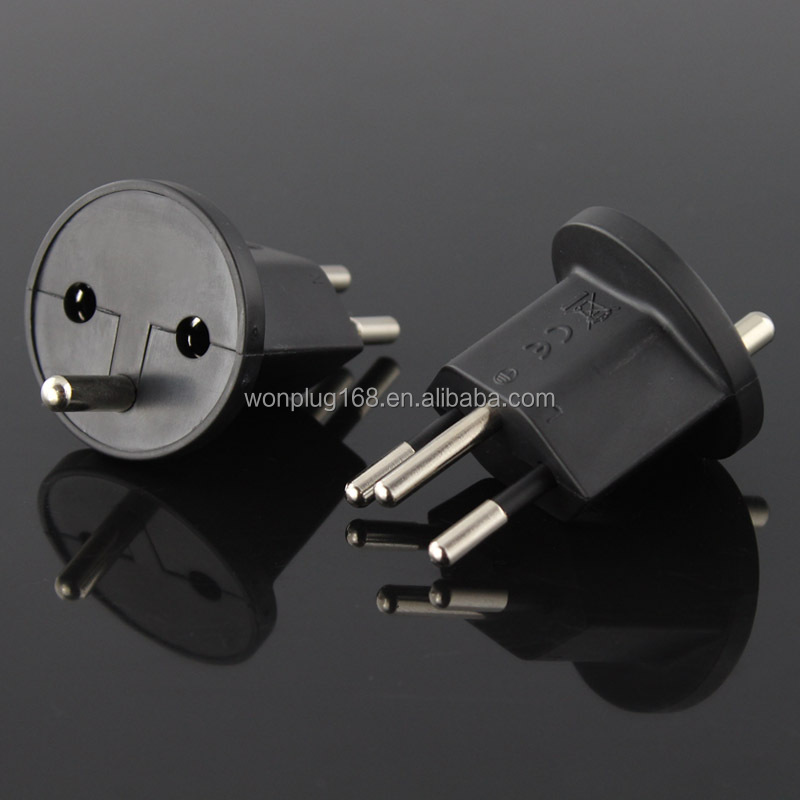 Universal france Swiss switzerland Plug Adapter Schuko socket with CE Rohs approved