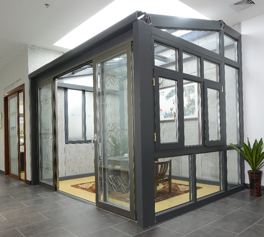 outdoor winter garden glass room,prefabricated garden glass house