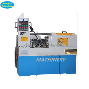 Steel bar thread rolling machine screw making machine rebar thread rolling machine