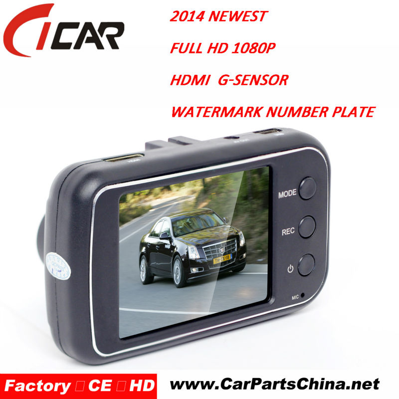 120 degree + High Resolution Wide Angle Lens 1080P Car Dvr Camera