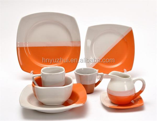 China Factory Microwave Safe Melamine Dinner Set