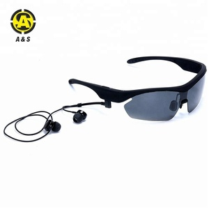 Gadgets goggles smart glasses bluetooth touch in ear stereo headset sunglasses