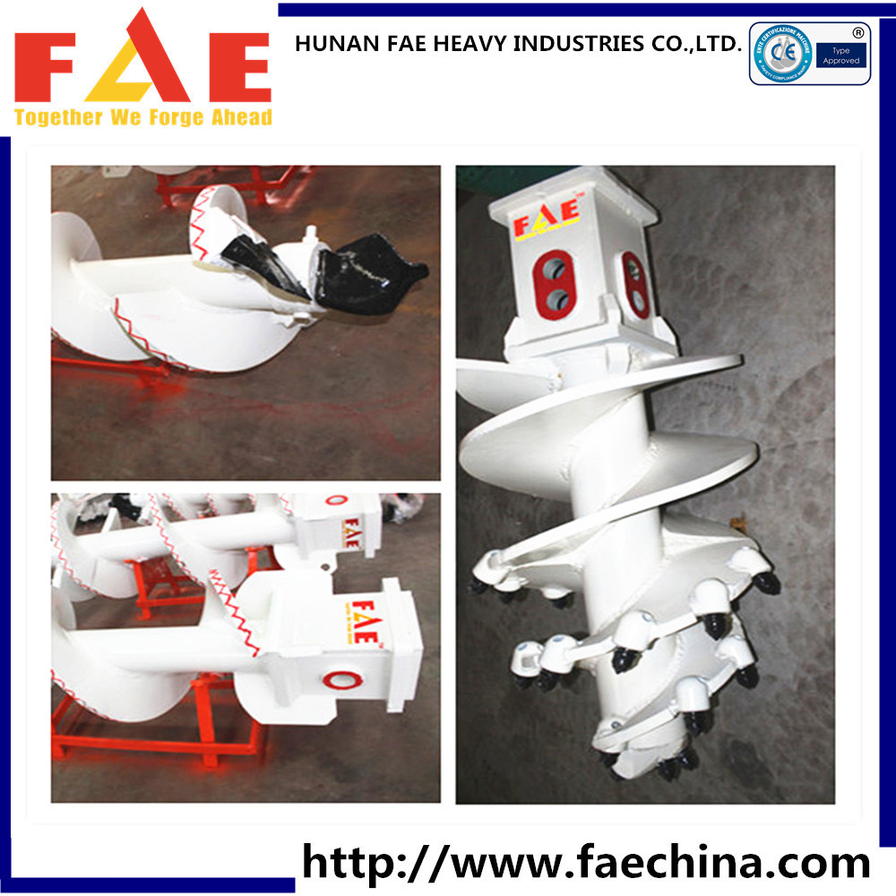 Rotation drill hole digger cfa auger shaft for piling equipment