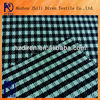 100% polyester black white check strong durable cases and bags fabric