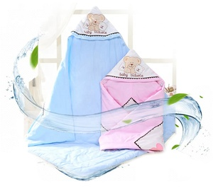 baby bamboo Baby Cotton receiving Swaddle Blanket