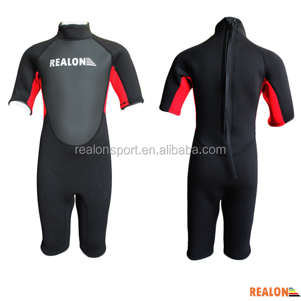 2014 Fashion Top Design Kids Surf Wetsuits For Sale