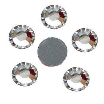 product-Jpstrass-Hot fix Capri Blue color ss20 100 gross big pack rhinestone loose flat back-img