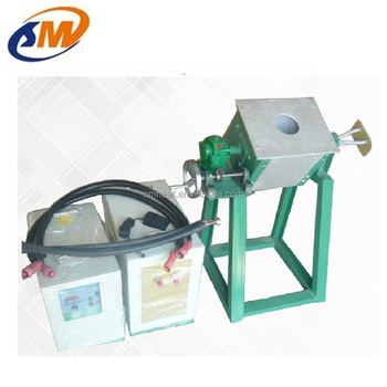 1~3kg small induction melting furnace for cooper, brass, aluminum, steel, stainless steel melt