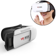 Hot! 3D Head Mount Plastic VR BOX 1.0 Version VR Virtual Reality Glasses Google Cardboard