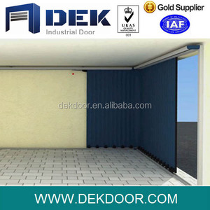 Automatic Side Sliding Sectional Garage Doors