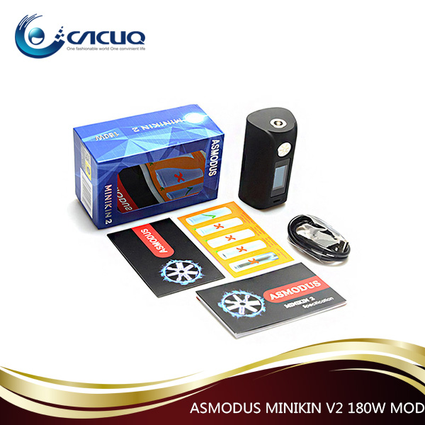2017 in Vogue Asmodus minikin v2 mod minikin 2 180w box mod from CACUQ