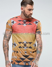 b4b57d7d Fashion style short sleeve marble printing t shirt men digital printing t  shirt white t shirt