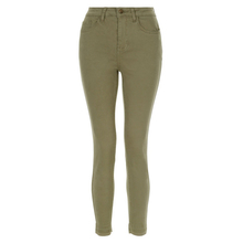 프리미엄 Women Army Green denim) 저 (low) rise jeggings lady 신축성 slim Cropped skinny jeans