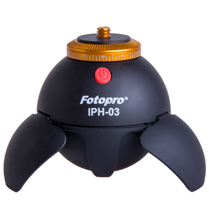 Fotopro 360 Degree Rotation for camera or phone Bluetooth with time lapse selfie tripod electronic ball panorama head