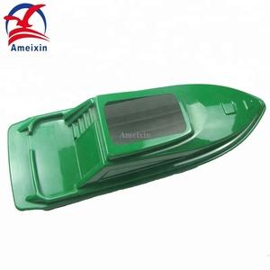 Optional Colours Vacuum Forming Waterproof Catamarans RC Fish Finder Bait  Boat Hulls For Fishing