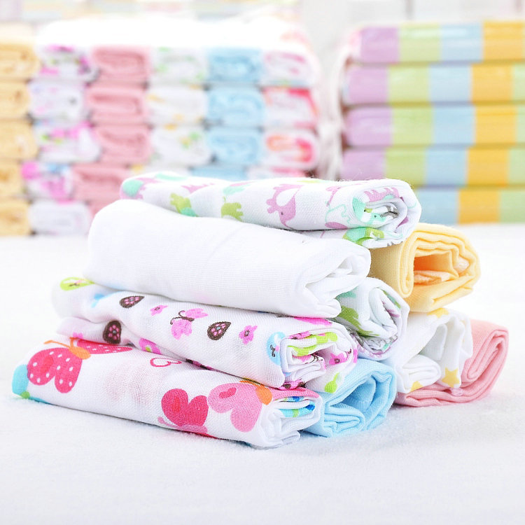 bamboo cotton handkerchief handkerchief for little baby handkerchief muslin printed