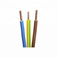 2.5mm 6mm 10mm 16mm copper conductor PVC insulated flexible waterproof cheap electrical wire