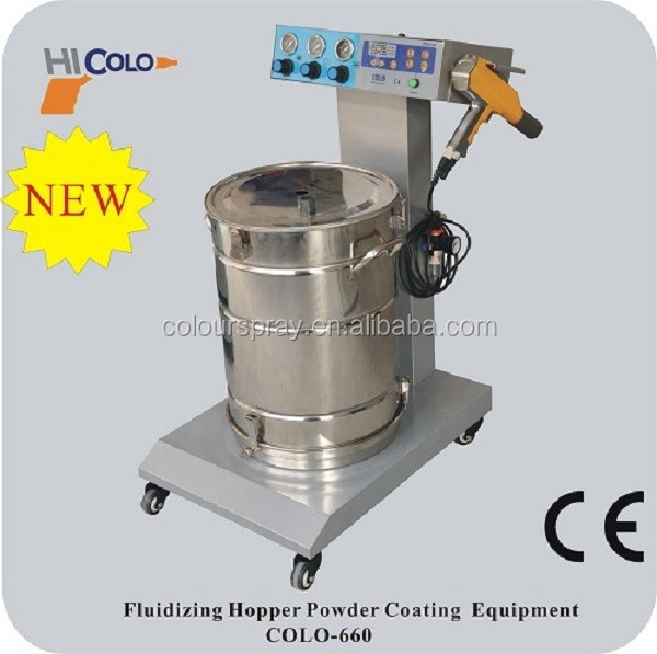 Best sale electrostatic powder painting equipment with pulse