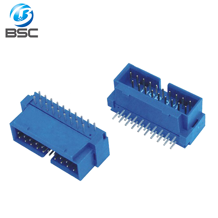 China Supplier Usb 30 20 Pin Right Angle Male Idc Connector Box