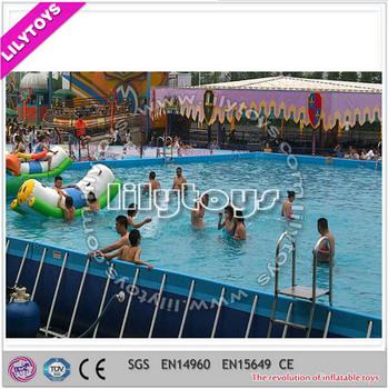 Schwimmbad Große, Außenpool Für Kinder Und Erwachsene, ...