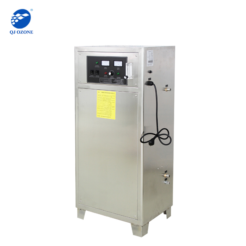 ozone equipment for manufacture sanitation, waste substance treatment by ozone oxidation