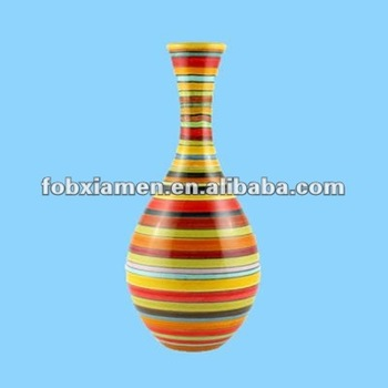 Ceramic Tall Colorful Spanish Single Flower Vases Art Buy Single