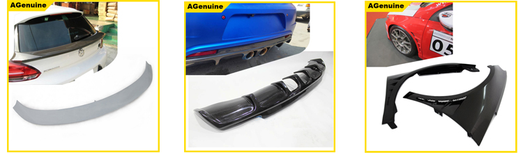 304 stainless steel 2.0 exhaust kit emission silencer system with end pipes for Volkswagen VW Scirocco