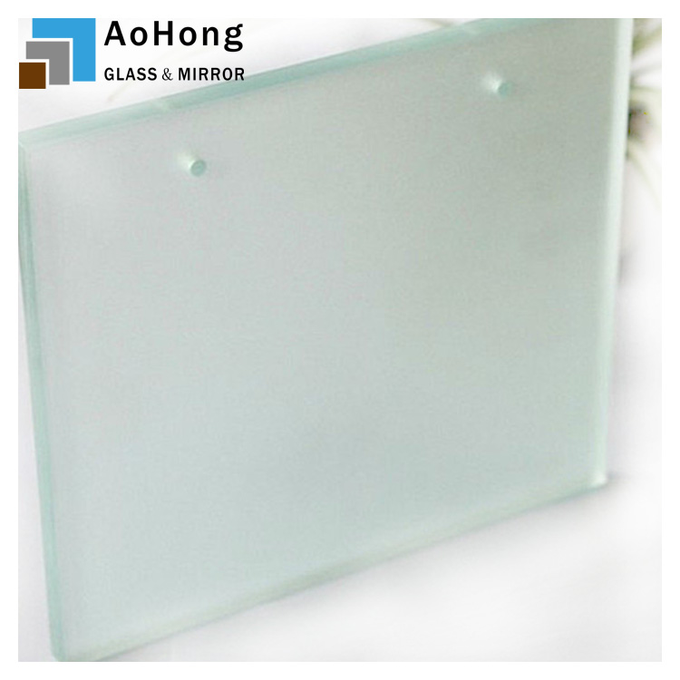 Frosted Glass Wall Panels