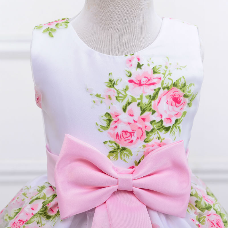 37d299b6caa50 New Fashion New Arrival Baby Girl Sleeveless Floral Print Baby Party  Dresses - Buy Baby Party Dresses,Kids Clothing,Baby Girl Summer Dress  Product on ...