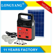 New colors 10w radio solar light system with 7.5Ah lithium battery portable solar energy kit for home use