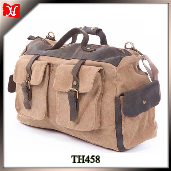 Custom Wax Print Canvas Side Bags For School Boys Shoulder Bag ...
