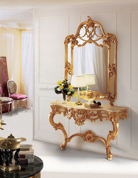 Luxury French Provincial Dressing Table And Mirrors Ndt12