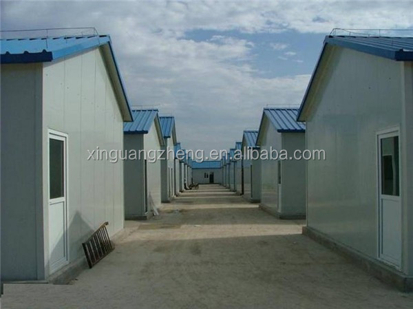 steel frame popular nice design prefab house