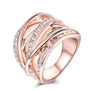 Fashion Rose Gold RIng Jewelry For Women Wholesale NS803401