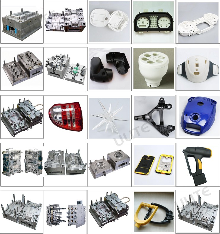 china supplier plastic injection mold for PP PVC ABS PE plastic parts