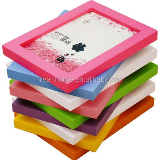New arrival wood photo frame multi photo frame / Photo table