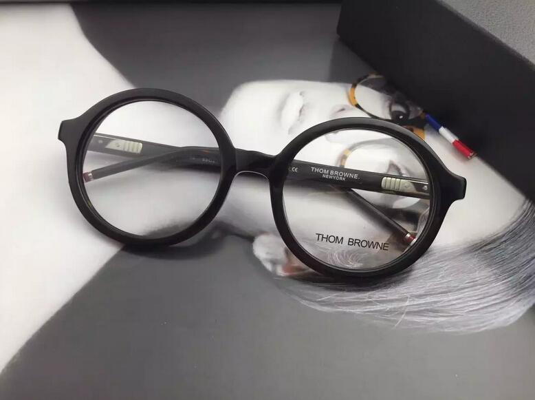 fcf78ed20e5 thom browne eyewear Retro round frame glasses frame fashion eyeglasses  NEWYORK brand TB 500 .