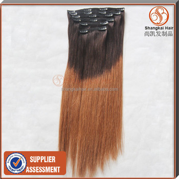 Ombre Clip In Hair Extensions Cheap 46