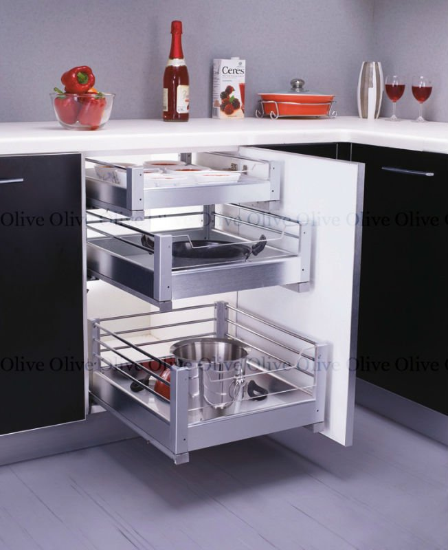 Pull Out Baskets Modular Kitchen Cabinet Accessories View Pull