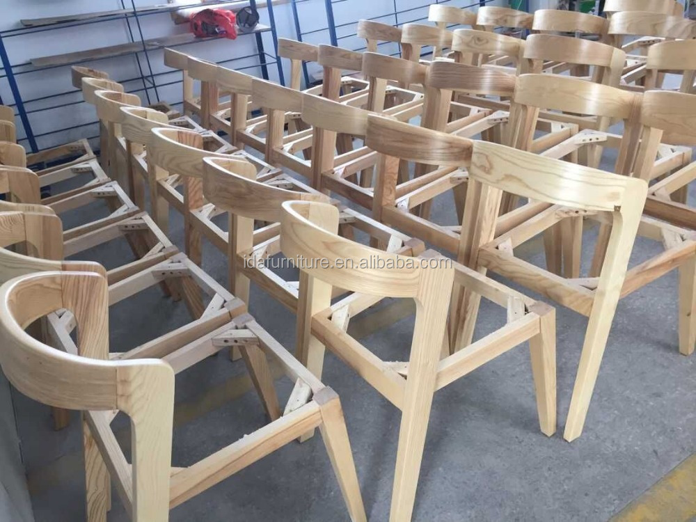 Exellent Modern Furniture Factory Dining Chair Solid Shenzhen Wooden With Decorating
