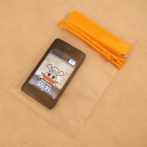 3pcs waterproof PVC mobile phone pouch for Canoeing