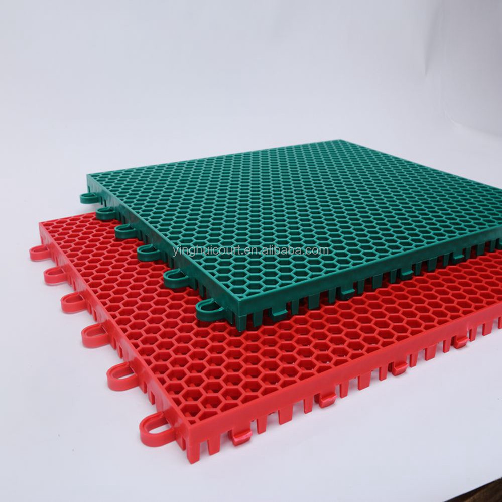 Plastic Flooring Type Basketball Court Floor Plastic Flooring Type