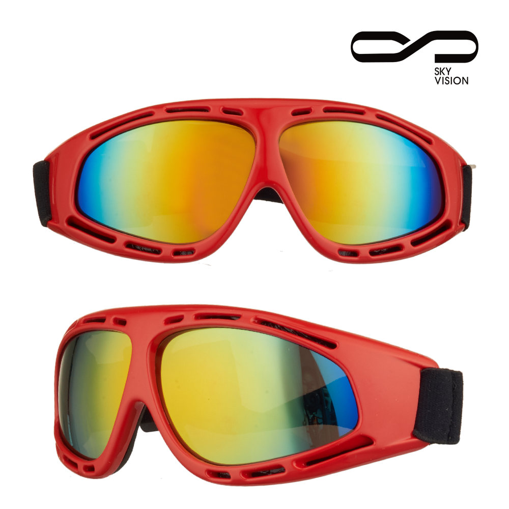 High performence outdoor sports colorful snowboard goggles