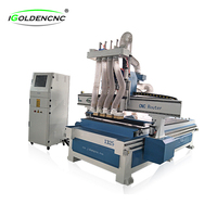 Hot sale 1325 cnc router woodworking machine for wooden furniture