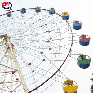 Classic design outdoor carousel 20m ferris wheel for sale