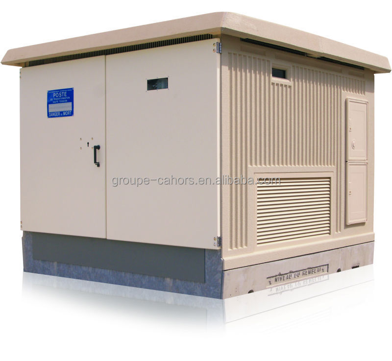outdoor compact transformer substation