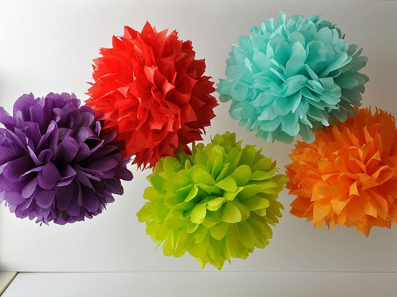 Most Beautiful Diy Paper Flower Ball Pom Poms Hanging For Wedding